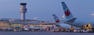 Canada's Largest Airport in Mississauga.