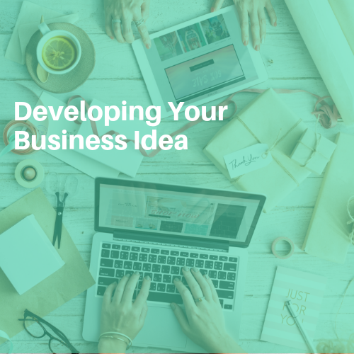 Developing your Business Seminar Graphic