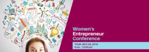 Women's Entrepreneur Conference – Nov 28
