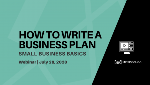 How to Write a Business Plan – Webinar, Jul 28