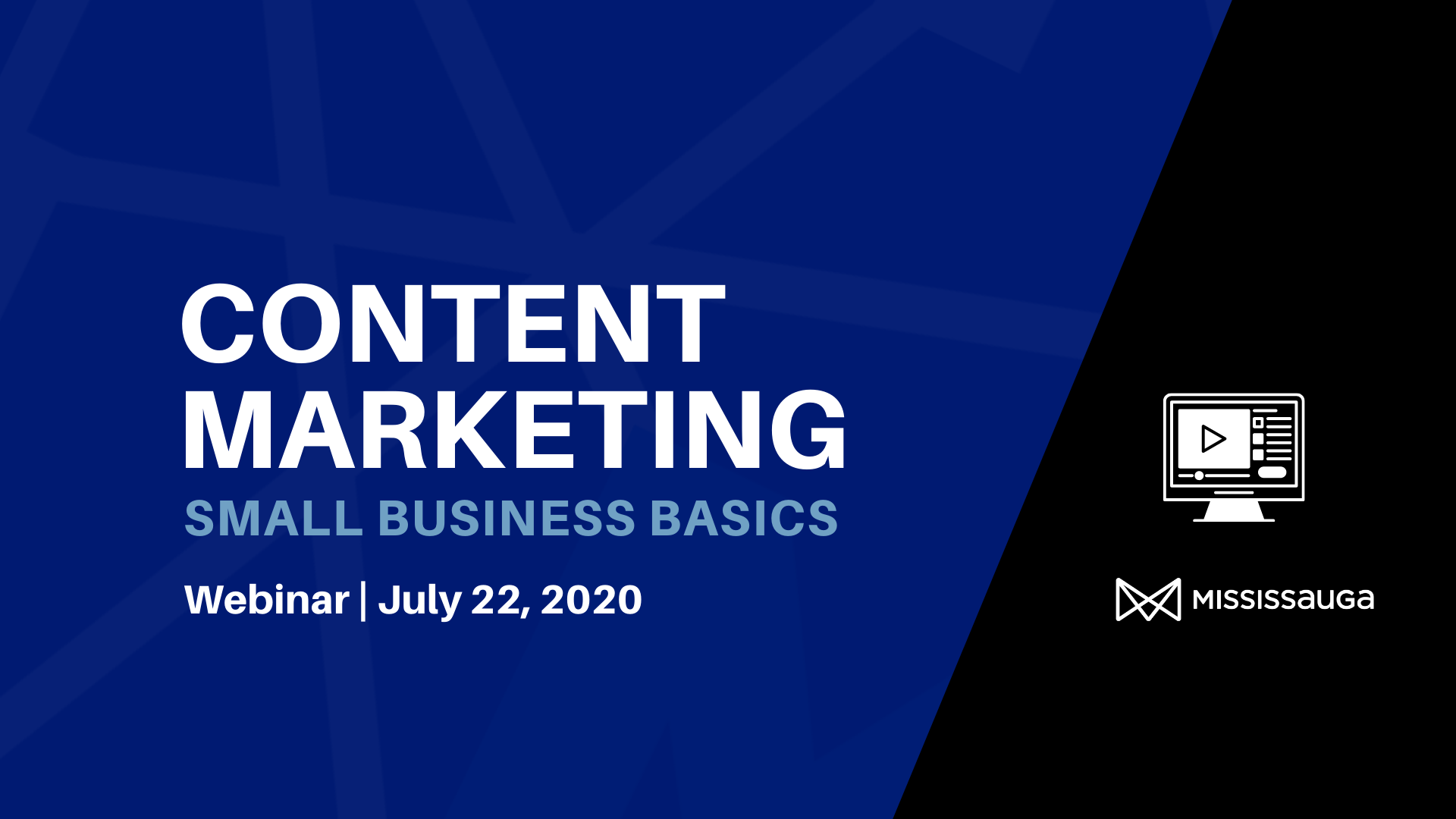 Content Marketing 101 – Webinar, Jul 22
