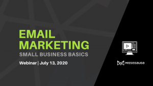 Email Marketing 101 – Webinar, Jul 13