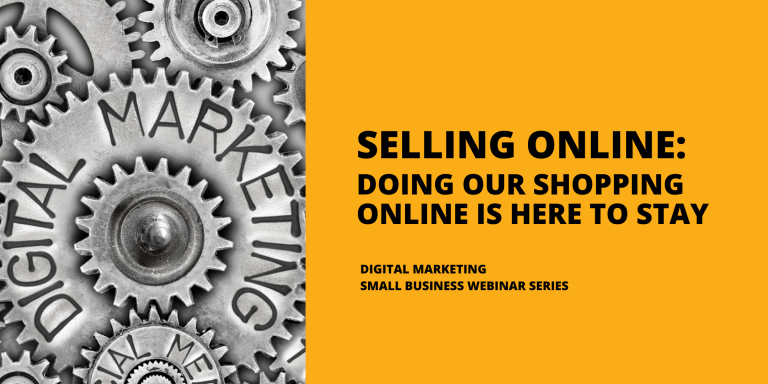 DMS Webinar Series Blog Selling Online Blog Graphic