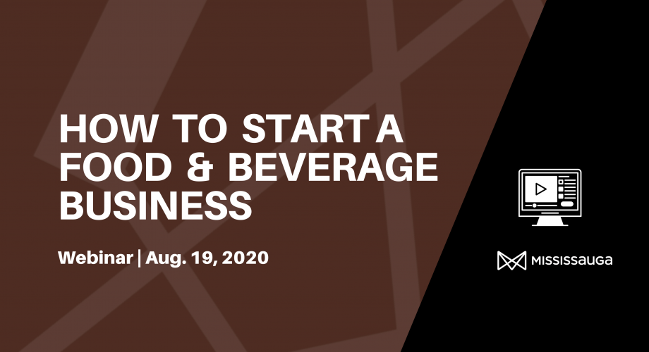 how to start food beverage business webinar graphic