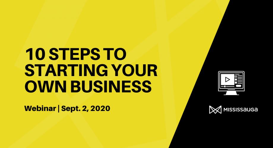 steps starting a business webinar