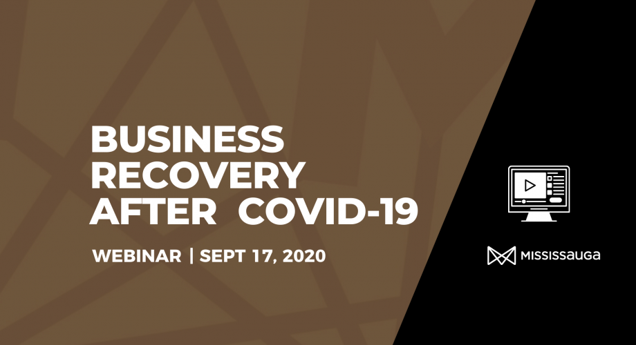 Business Recovery Webinar Graphic