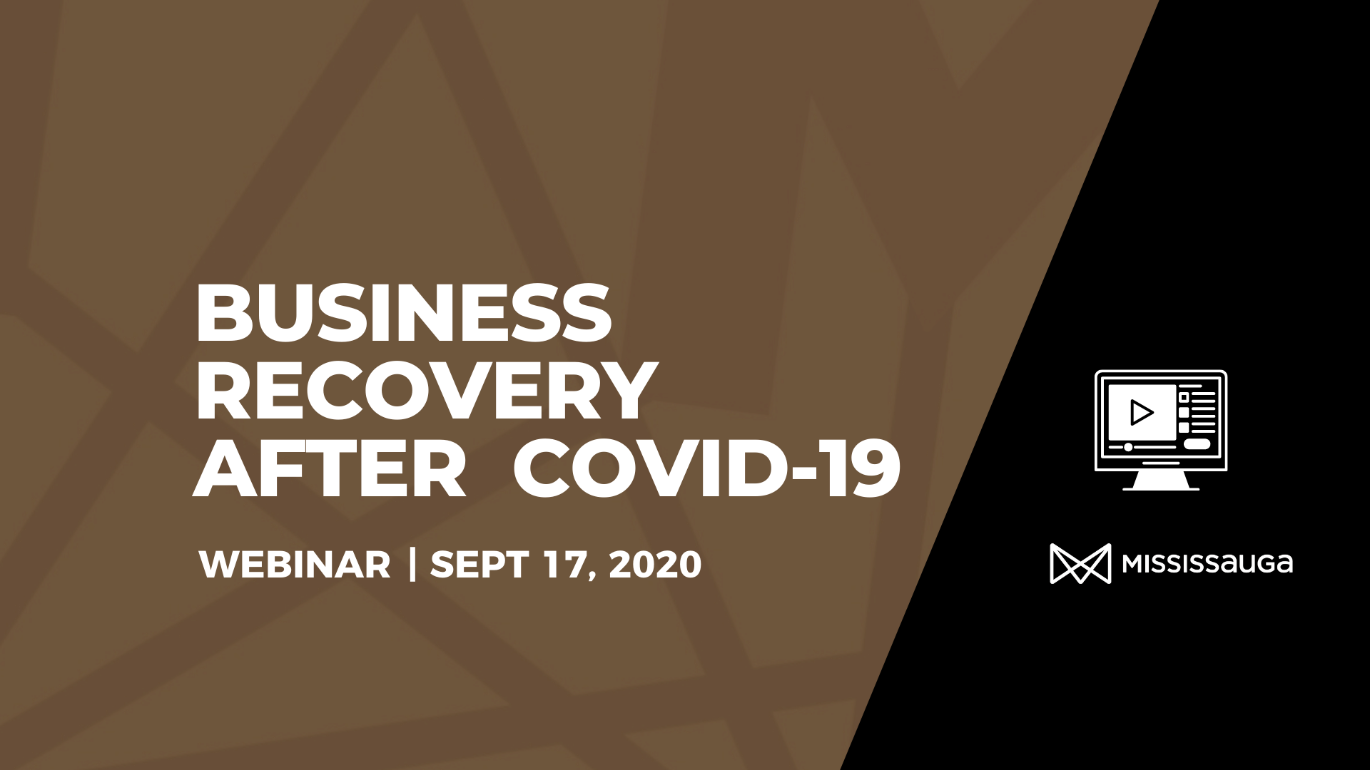 Business Recovery after COVD-19 – Webinar, Sept 17