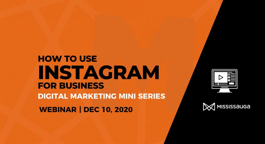 EDO Webinar Instagram for Business Dec 2020 Graphic