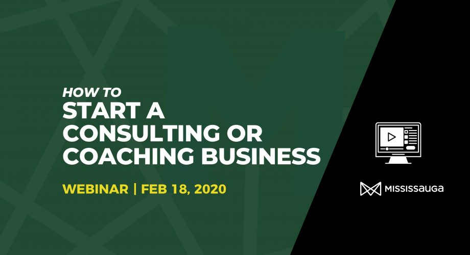 Webinar Start Consulting Business Graphic