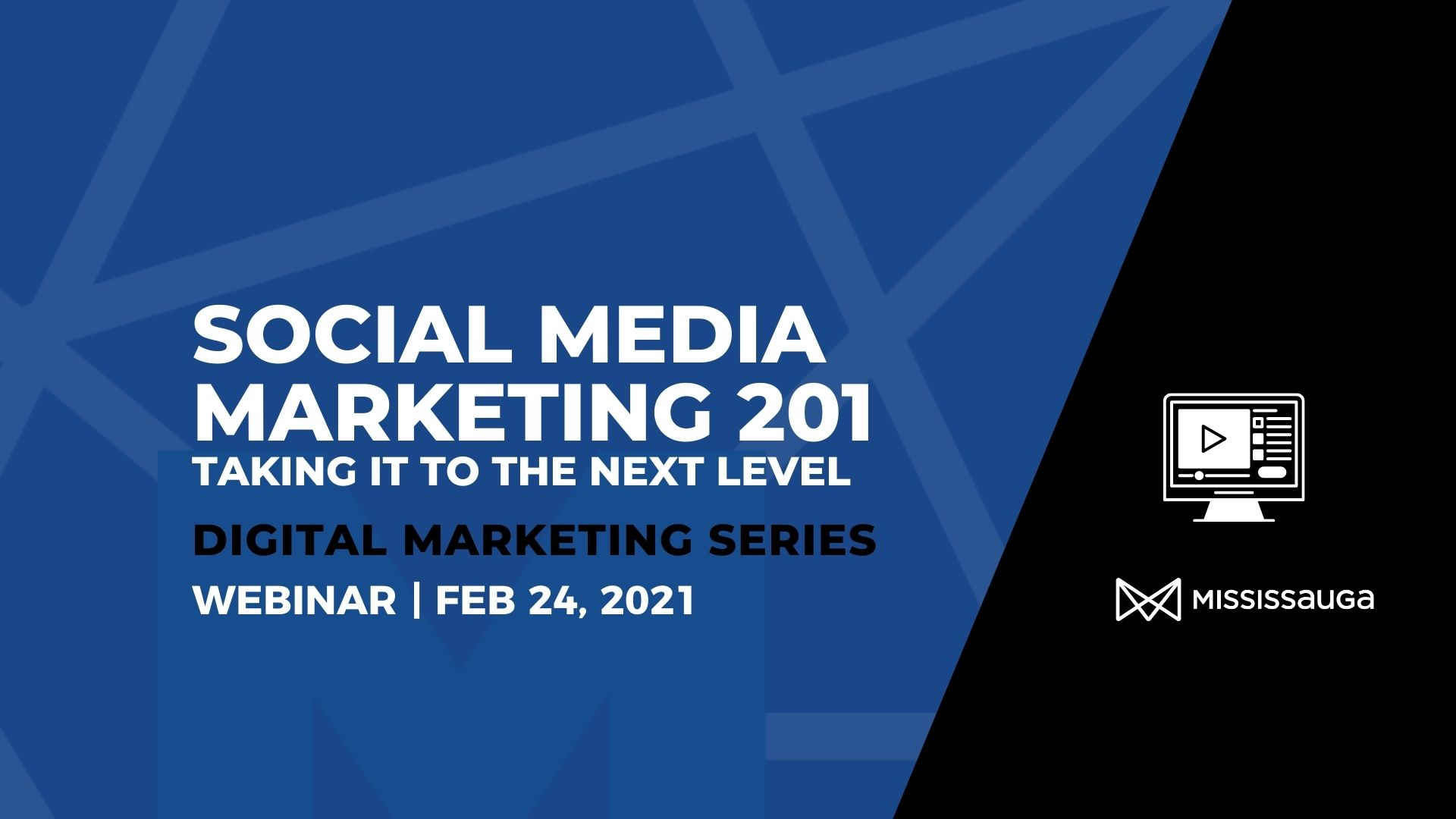 Social Media Marketing 201 – Webinar, Feb 24