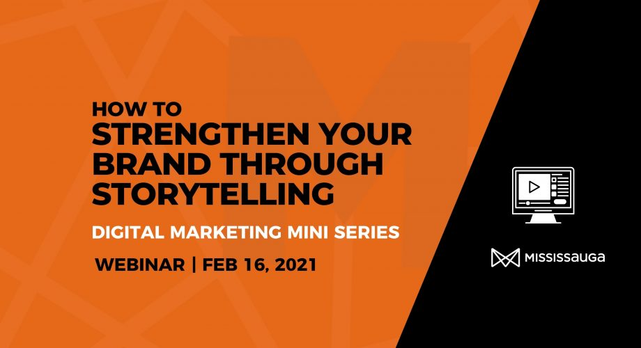 How to Strengthen Brand webinar Feb 16 Graphic