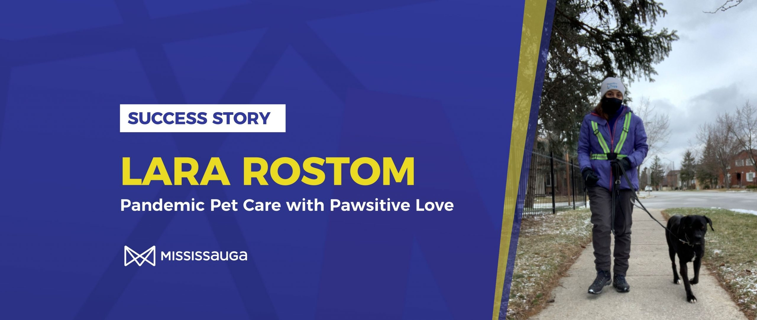 Lara Rostom: Pandemic Pet Care with Pawsitive Love
