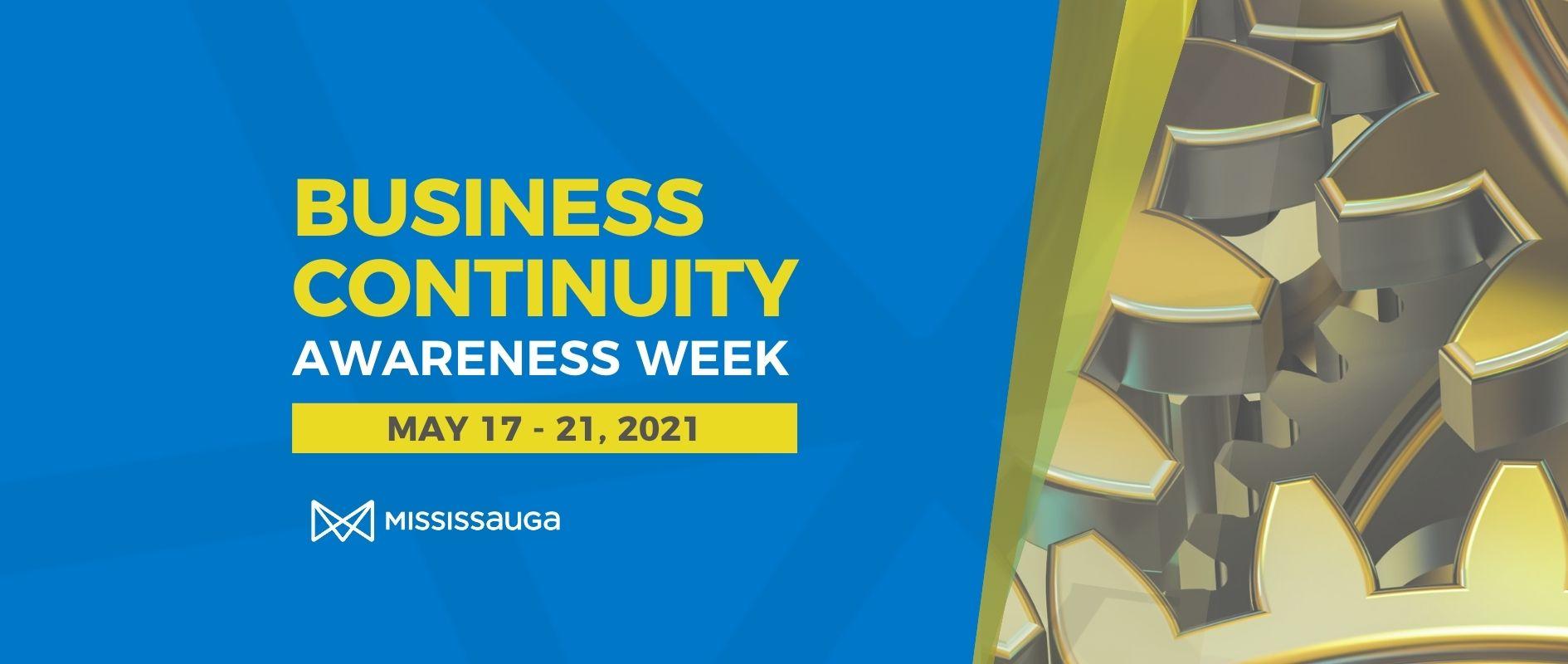 Business Continuity Awareness Week 2021
