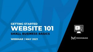 Website 101 – Getting Started – Webinar, May 27